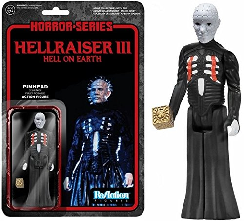 Hellraiser Pinhead ReAction 3 3/4-Inch Retro Action Figure (2PACK)