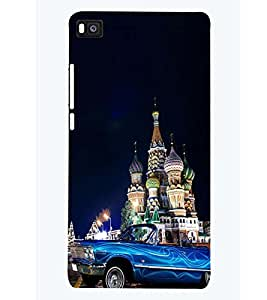 PRINTSWAG PHOTOGRAPHY Designer Back Cover Case for HUAWEI P8