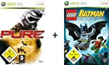 Kit 2 jeux Xbox (Pure + Lego Batman)