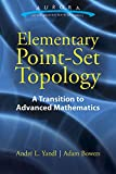 img - for Elementary Point-Set Topology: A Transition to Advanced Mathematics (Aurora: Dover Modern Math Originals) book / textbook / text book