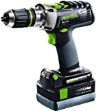 Festool PDC 18/4 Li 4,2 Set GB Quadrive Percussion Cordless Drill/ Driver