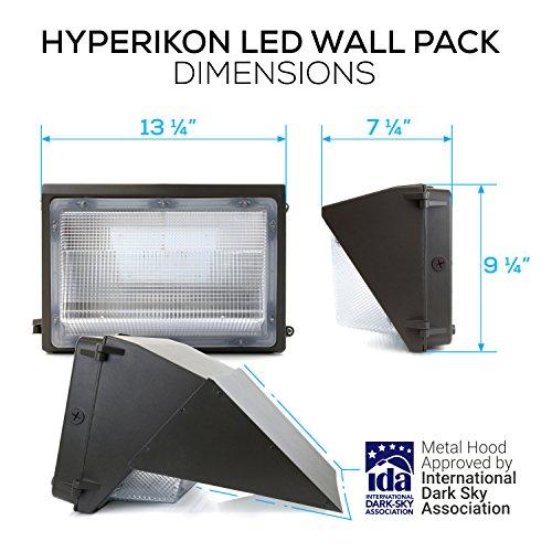 Led Wall Pack Exterior Lights: Hyperikon Wall Lights LED 70W Wall Pack Fixture 5000K HPS