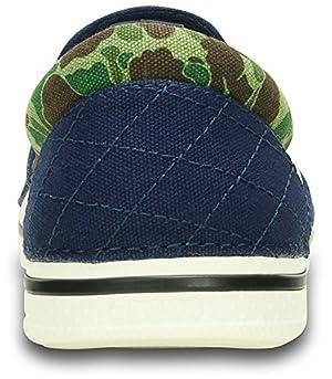 [クロックス] Crocs Norlin Atmos Camo Slip-on Men 201281-4A1-250 Blue/White (ブルー/ホワイト/M9W11/27cm)