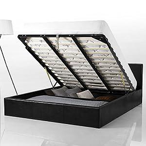 lit coffre 140x190 cm smart cuisine maison. Black Bedroom Furniture Sets. Home Design Ideas