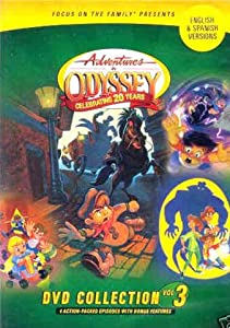 Amazon Com Adventure In Odyssey Dvd Collection Vol 3