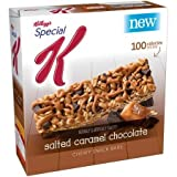 Kellogg's, Special K, 100 Calorie Chewy Snack Bars, 6 Count (0.88oz), 5.8oz Box (Pack Of 4) (Choose Flavors Below...