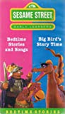 Sesame Street Early Learners: Bedtime Stories And Songs [VHS]