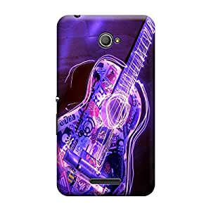 Digi Fashion Designer Back Cover with direct 3D sublimation printing for Sony Xperia E4
