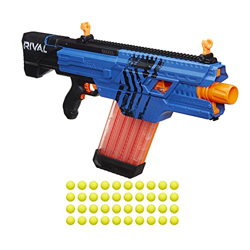 Nerf Rival Khaos MXVI-4000 Blaster (Blue) (Nerf Guns With Magazine compare prices)
