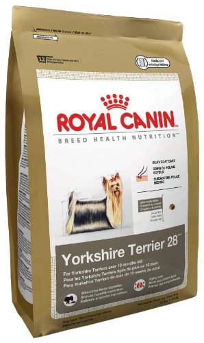 Royal Canin Dry Dog Food, Yorkshire Terrier 28 Formula, 2.5-Pound Bag