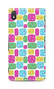 Amez designer printed 3d premium high quality back case cover for Sony Xperia Z3 (Figures bright)