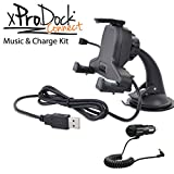 iBOLT xProDock Bluetooth Music Charging Car Dock / Mount / Holder with aux-out for Samsung Galaxy S4, S5 & Note 3 & 4, HTCs, LGs, Nexus, Motos & Sonys.