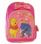 Disney Winnie the Pooh Pink Back to School Backpack