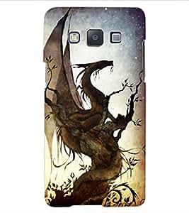 ColourCraft Lovely Dragon Art Design Back Case Cover for SAMSUNG GALAXY A5 A500F