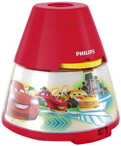 Philips-Disney-Cars-LED-Projektor-Tischleuchte-rot-717693216