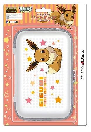 【3DS LL用】任天堂公式ライセンス商品 ポケットモンスターハードポーチ for ニンテンドー3DS LL イーブイ