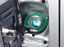 クリエイト 給油間違い防止リング 【XG13】 軽油(グリーン)