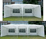 Merax 10x30FT Gazebo Canopy Wedding Party Tent with Removable Sidewalls