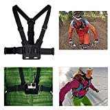 XCSOURCE Accessories Set For Gopro Hero 2 3 3+ 4 Includes Wrist Strap Mount + Chest Belt Strap Mount + Head Belt Strap Mount + Extendable Handle Monopod Pole +Suction Cup Mount + Flat/Curved Adhesive Mounts +Carry Bag OS94