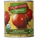 Muir Glen Organic Crushed Tomato with Basil, 28-Ounce Cans (Pack of 12) ~ Muir Glen