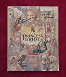 The Princess Bride Script w/Reproduction Signature Elwes and Wright C3