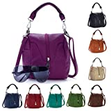 Big Handbag Shop Womens Trendy Mini Top Handle bag