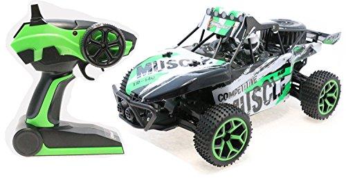 Bolide tout- terrain radiocommandé Top Race®, Camion Monstre radiocommandé 4WD, camion de montagne grande vitesse tout- terrain, 2.4Ghz (TR-140)