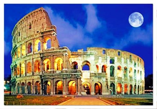 Cheap Educa Rome Coliseum, Italy (500 pc puzzle) by Educa Borras (B0012ZXZLI)