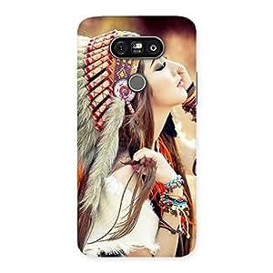 Ajay Enterprises Native Smart Girl Back Case Cover for LG G5