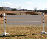 Solid Colored Plank Gates Wood Horse Jumps 12ft