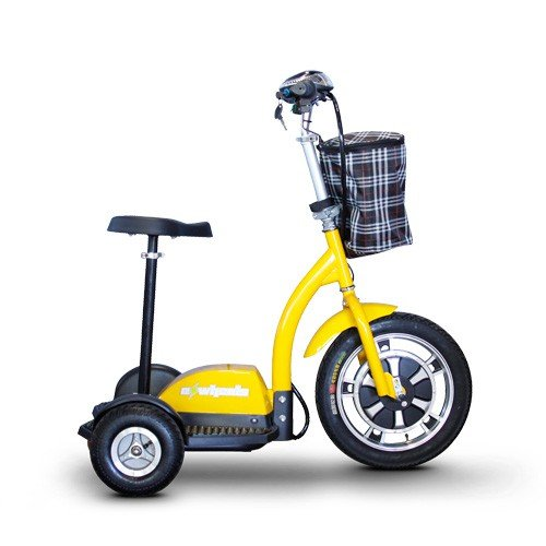 ewheels-ew-18-stand-n-ride-scooter-with-folding-tiller-yellow