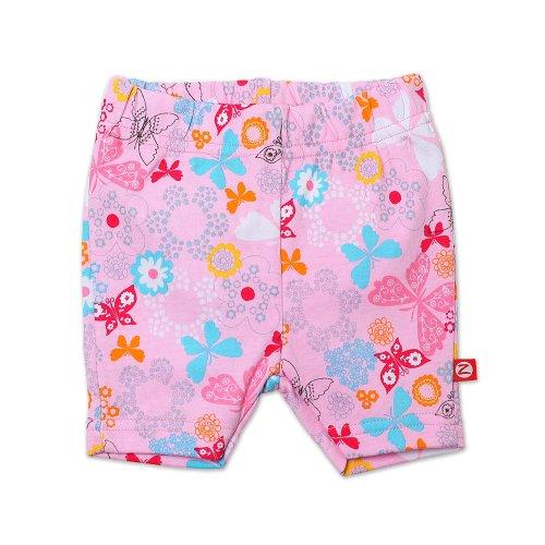 Zutano Baby-Girls Infant Summer Dream Bike Shorts, Blush, 24 Months front-1037769