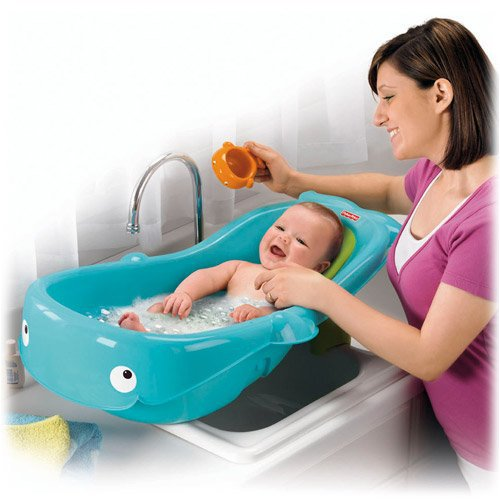 fisher price whale of a tub baby bath cool kid collections. Black Bedroom Furniture Sets. Home Design Ideas
