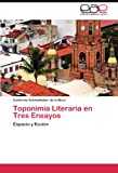 img - for Toponimia Literaria en Tres Ensayos: Espacio y ficci n (Spanish Edition) book / textbook / text book