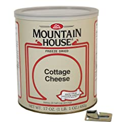 Mountain House Freeze Dried Cottage Cheese with Free Can Opener by Mountain House