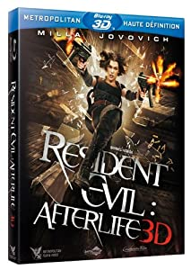 Resident Evil : Afterlife 3D [Blu-ray] [Blu-ray 3D - Édition boîtier SteelBook]