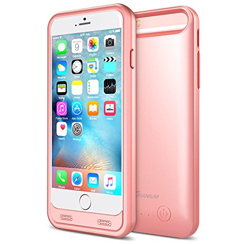 iPhone 6S Plus Battery Case - iPhone 6 Plus Battery Case, Trianium Atomic S iPhone 6/6s Plus Portable Charger Charging Case (5.5