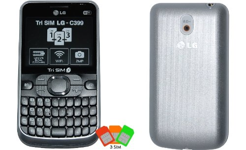 LG C399 Triple Sim Mobile Phone