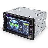 Auna-MVD-480-Touchscreen-Moniceiver-Bluetooth-Autoradio-Doppel-Din-DVD-CD-MP3-Player-Front-USB-SD-Slot-62-Zoll-16cm-HD-Touchscreen