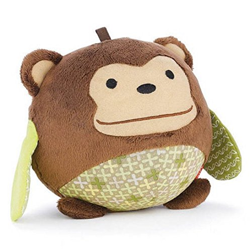Chime Ball Activity Animal Toy Monkey Baby Rattle Toy 0-12Months Child Educational Brand Product front-1055015