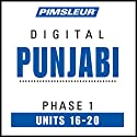 Punjabi Phase 1, Unit 16-20: Learn to Speak and Understand Punjabi with Pimsleur Language Programs Audiobook by  Pimsleur Narrated by  Pimsleur