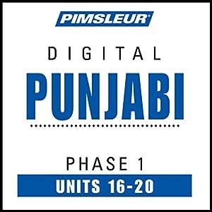 Punjabi Phase 1, Unit 16-20 Hörbuch