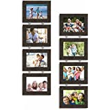 Art Street Hanging Photo Frame Charming Chain - Set Of 8