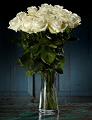 Autograph™ White Rose Bouquet
