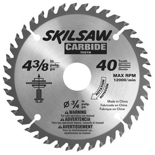 Skil 75540 4 3 8 Inch By 40t Carbide Flooring Blade