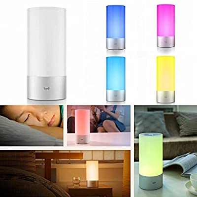 VSHINE Original Xiaomi Yeelight Indoor Night Lights Bedside Lamp 16 Million RGB Color Wireless Touch Control Support iPhone Android Phone