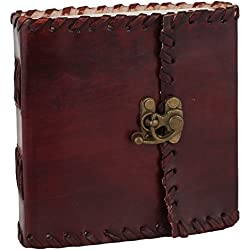 Handmade Leather Journal Poetry Him Her Men Women Leather Diary Gift Ideas Artists Small