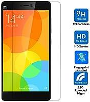 DMG Xiaomi Mi4i / Mi 4i Tempered Glass Screen Protector (2.5D Bubble-Free,No Fingerprints Anti-Scratch Oil Coated Washable)