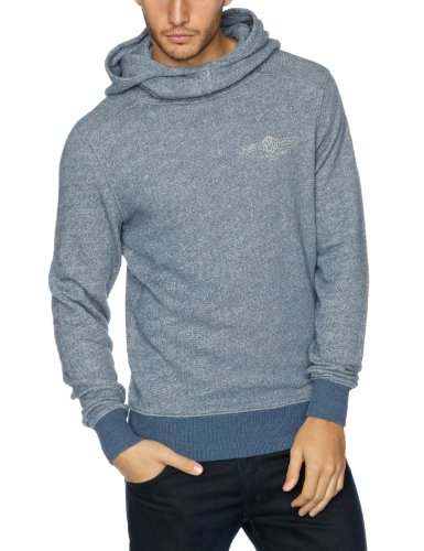 Replay M3281 Men's Sweatshirt Melange Blue SmallSmallReplay M3281 Men's Sweatshirt Melange Blue SmallM3281 .000.20906.M43    S