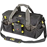 Custom Leathercraft P235 Tech Gear Power Distribution Tool Bag, 18-Inch